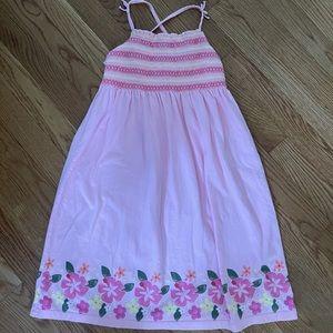Osh kosh cross back dress